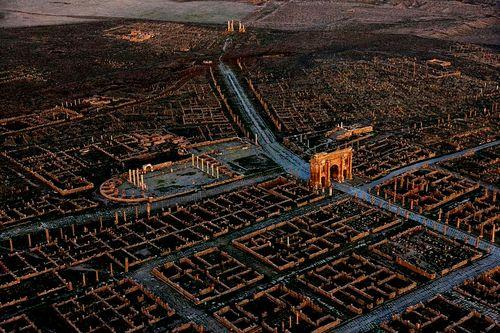 Древний город Тимгад