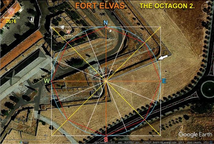 Форт Элваш пентаграмма октагон