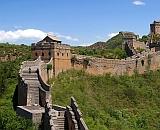 Строительство вновь обнаруженной секции Великой стены (изображение Ren Chao / National Geographic China).