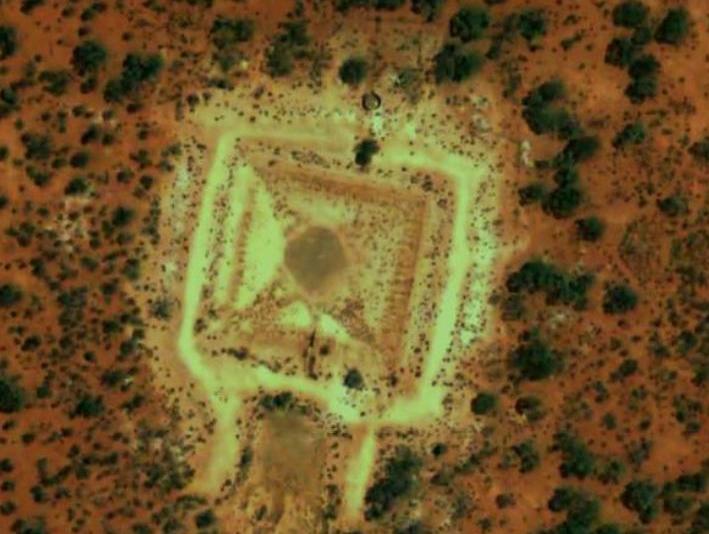 О пирамидах в Австралии очень