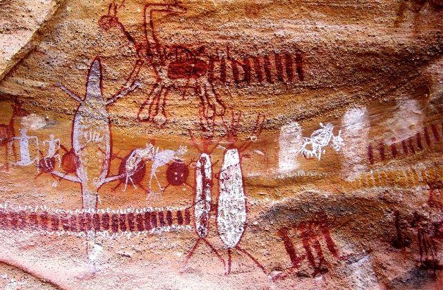 петроглифы Серра-да-Капивара